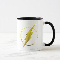justice league, batman, flash, superman, green lantern, dc comics, super hero, coffee stain, art, Mug with custom graphic design