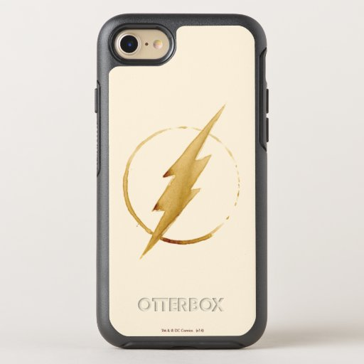 The Flash | Yellow Chest Emblem OtterBox Symmetry iPhone 8/7 Case