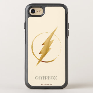 The Flash | Yellow Chest Emblem OtterBox Symmetry iPhone 8/7 Case