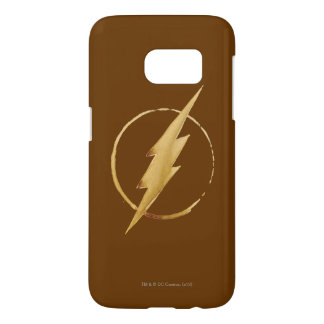 The Flash | Yellow Chest Emblem Samsung Galaxy S7 Case