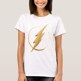 The Flash | Yellow Chest Emblem T-Shirt