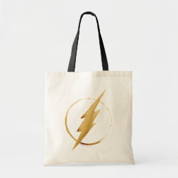 The Flash | Yellow Chest Emblem Tote Bag