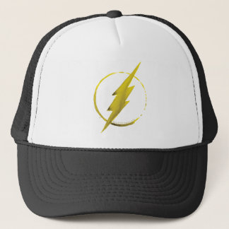 The Flash | Yellow Chest Emblem Trucker Hat