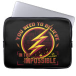 The Flash | You Need To Believe In The Imposible Computer Sleeve