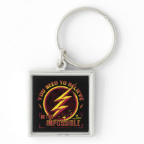 The Flash | You Need To Believe In The Imposible Keychain
