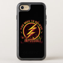 The Flash | You Need To Believe In The Imposible OtterBox Symmetry iPhone 8/7 Case
