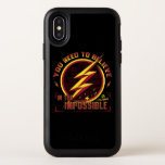 The Flash | You Need To Believe In The Imposible OtterBox Symmetry iPhone X Case