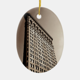 The Flatiron Building - Classic New York City Ceramic Ornament