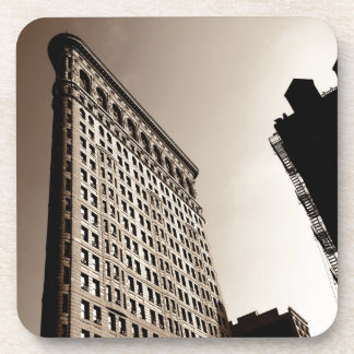 The Flatiron Building - Classic New York City Drink Coaster