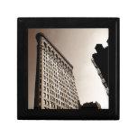 The Flatiron Building - Classic New York City Keepsake Boxes