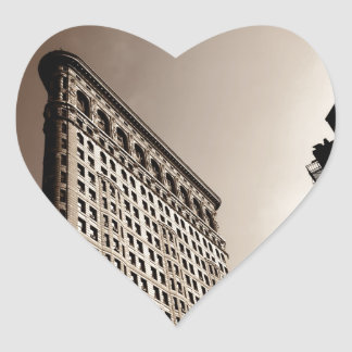 The Flatiron Building - Classic New York City Heart Sticker