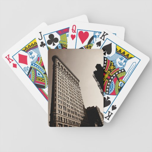 The Flatiron Building - Classic New York City Bicycle Card Decks
