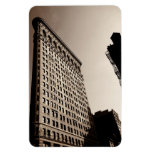 The Flatiron Building - Classic New York City Rectangular Magnet