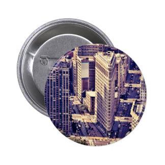 The Flatiron Building - New York City Pinback Buttons