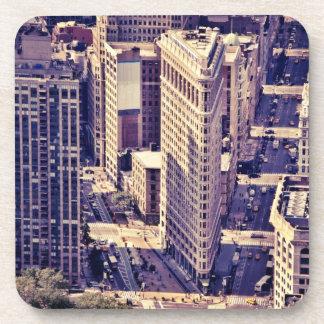 The Flatiron Building - New York City Drink Coaster