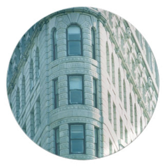 The Flatiron Building (photo) 2 Plate