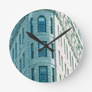 The Flatiron Building (photo) 2 Round Clock