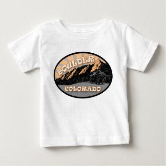The Flatirons, Chautauqua Park, Boulder Colorado Baby T-Shirt