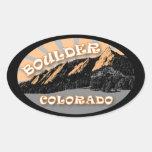 The Flatirons, Chautauqua Park, Boulder Stickers