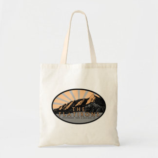 The Flatirons, Chautauqua Park, Boulder Tote Bag