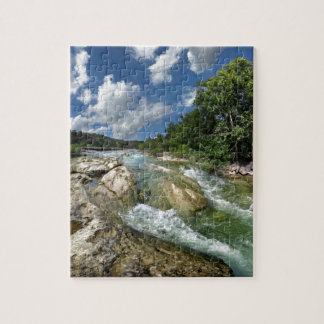 The Flats of Barton Creek in Austin, Texas Jigsaw Puzzle