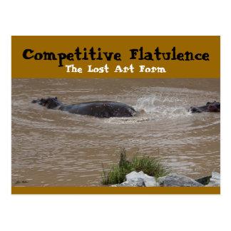 The Flatulent Defense Postcard