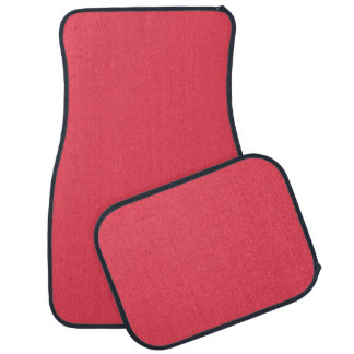 THE FLAVOR OF FRUIT: WATERMELON PINK (solid color) Floor Mat