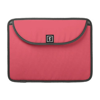 THE FLAVOR OF FRUIT: WATERMELON PINK (solid color) MacBook Pro Sleeve