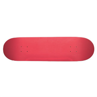 THE FLAVOR OF FRUIT: WATERMELON PINK (solid color) Skateboard