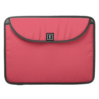 THE FLAVOR OF FRUIT: WATERMELON PINK (solid color) Sleeve For MacBook Pro