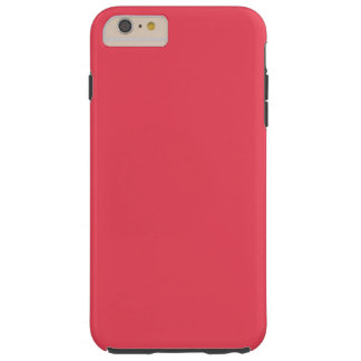 THE FLAVOR OF FRUIT: WATERMELON PINK (solid color) Tough iPhone 6 Plus Case