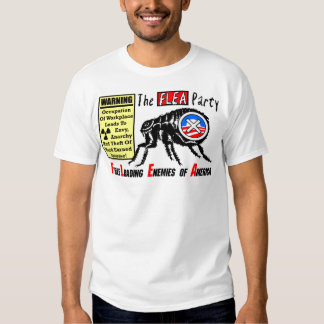 The Flea Party: Occupy Wall Street T-Shirt