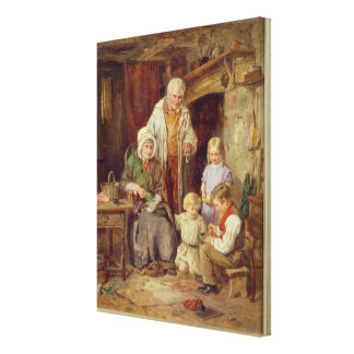 The Fledglings Canvas Print