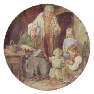 The Fledglings Melamine Plate