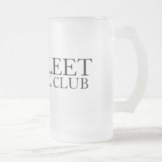THE FLEET, FOOTBALL CLUB FROSTED GLASS BEER MUG