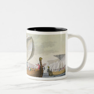 The Fleet of William the Conqueror, plate 8 from ' Two-Tone Coffee Mug