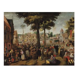 The Flemish Fair Postcard