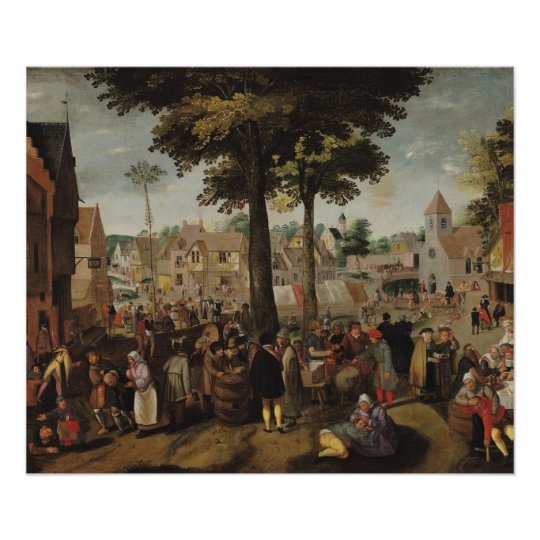 The Flemish Fair Poster