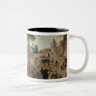 The Flemish Fair Two-Tone Coffee Mug