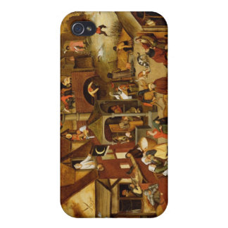 The Flemish Proverbs iPhone 4 Covers