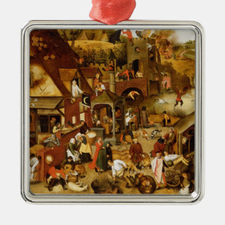 The Flemish Proverbs Christmas Tree Ornament