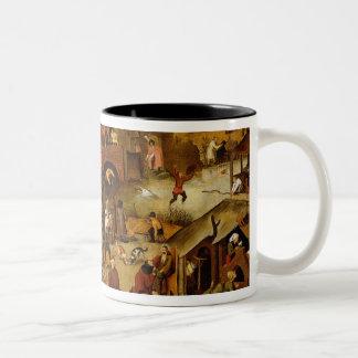 The Flemish Proverbs Two-Tone Coffee Mug