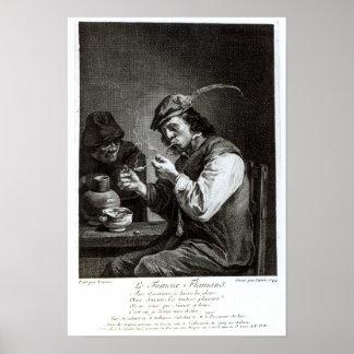 The Flemish Smoker Poster