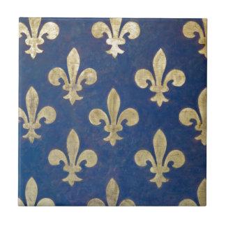 The fleur-de-lis or fleur-de-lys tile