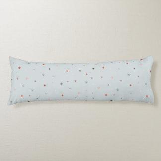The Fleur-de-Lis - Vintage Pastel Colors Body Pillow