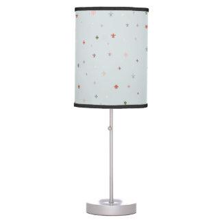 The Fleur-de-Lis - Vintage Pastel Colors Desk Lamp