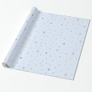 The Fleur-de-Lis - Vintage Pastel Colours Wrapping Paper