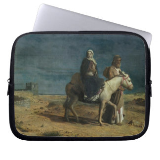 The Flight From The Sword of Herod, 1880 (oil on c Laptop Sleeves