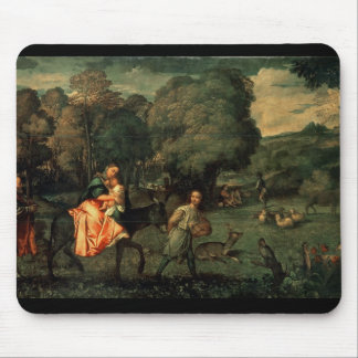 The Flight into Egypt, 1500s Mouse Pad