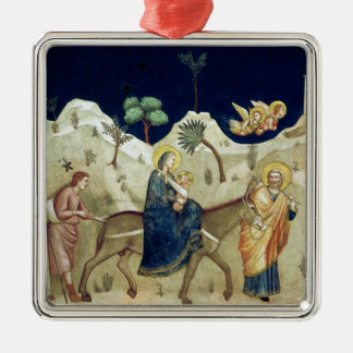 The Flight into Egypt 2 Metal Ornament
